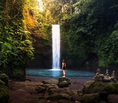 Bali Ubud Waterfall Tour to Tibumana, Tukad Cepung, and Tegenungan