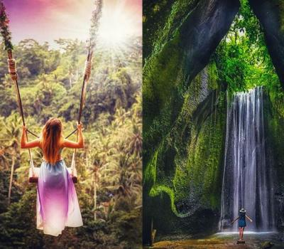 What to Expect in Tour of Bali Tukad Cepung Waterfall and Jungle Swing Ubud