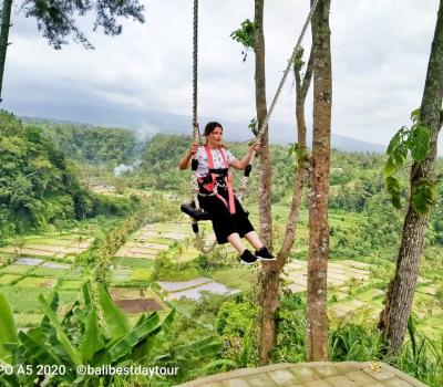 Amazing Bali Swing  Birds Nest Ubud Tour