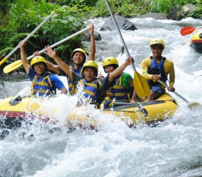 Ubud White Water Rafting Adventure Jungle River