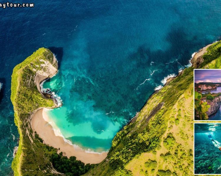 Bali Nusa Penida Tour Packages: 3 Amazing Beaches + Snorkeling Point