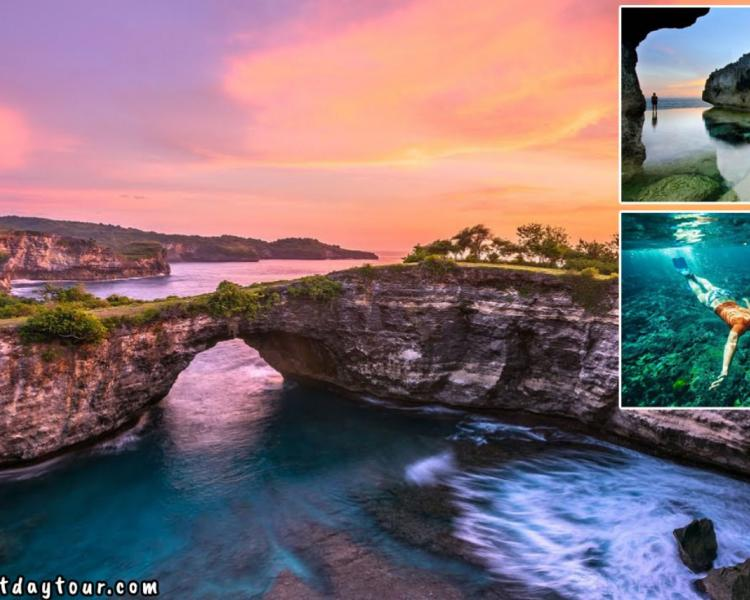One Day Trip to Nusa Penida Tour Package + Snorkeling Activity