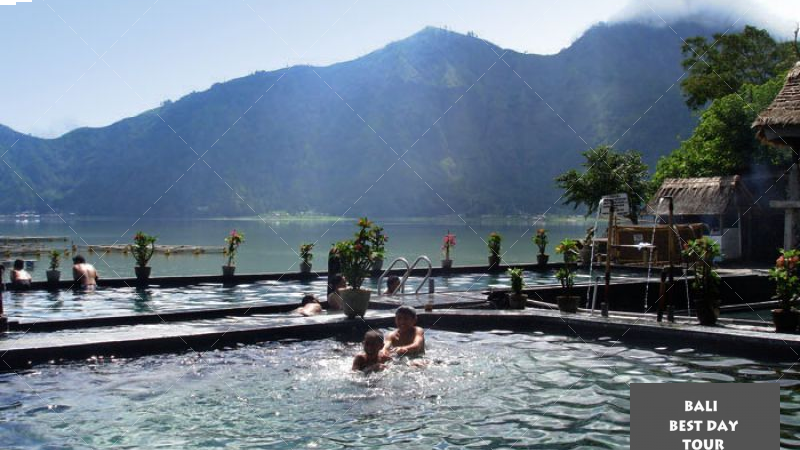Bali Mount Batur Sunrise Trekking and Natural Hot Spring Tour Package