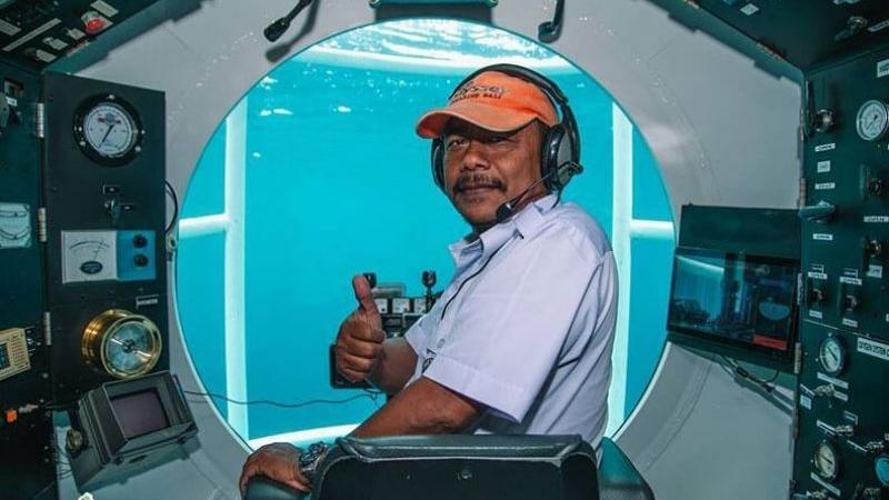 Dive With The Submarine Odyssey In Bali