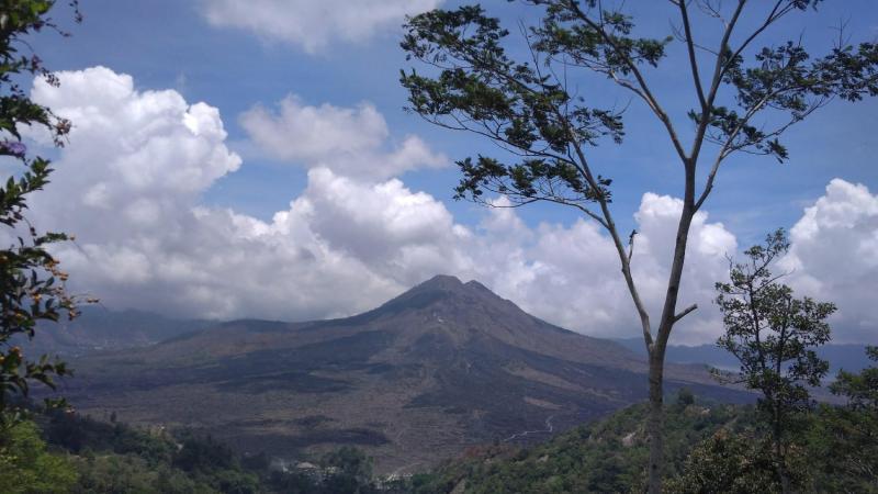 Ubud Bali Swing And Volcano Tour