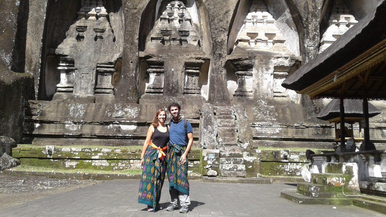 Gunung Kawi The Cliff Temple In Tampak Siring Bali