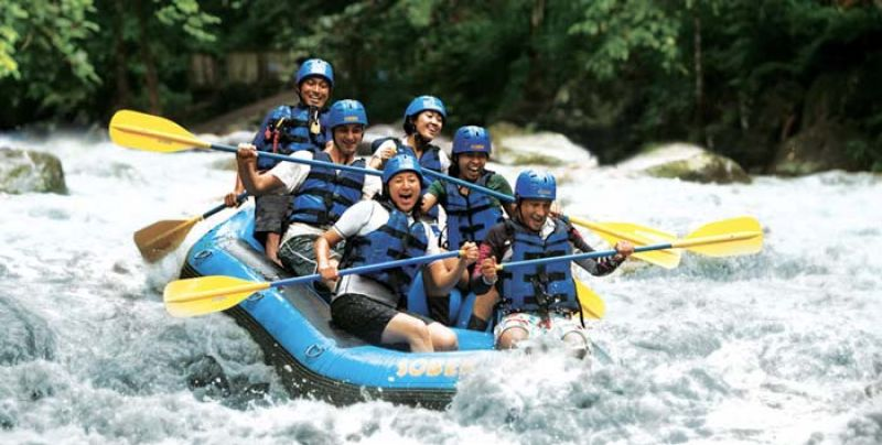 Bali White Water Rafting Tours Package