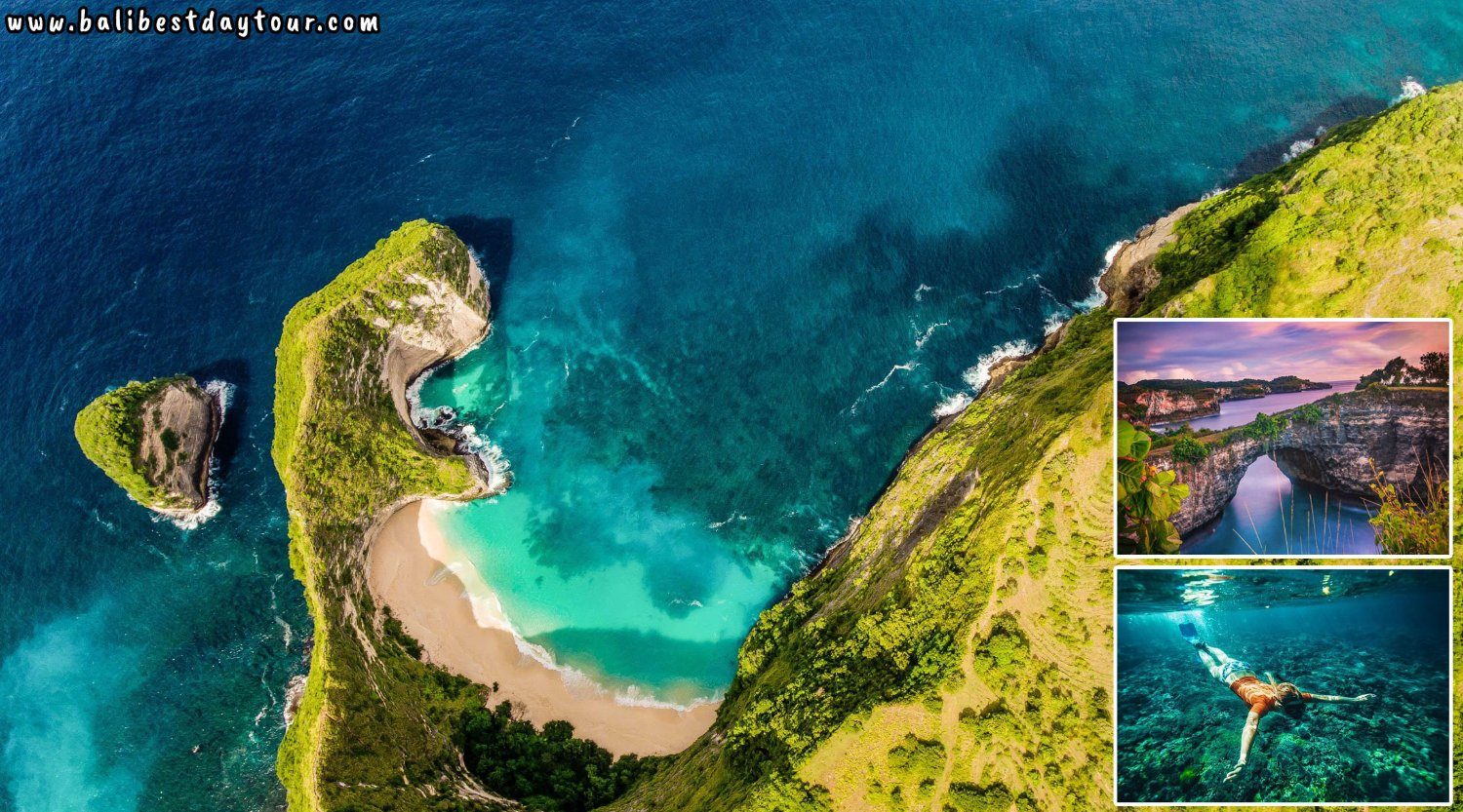 Bali Nusa Penida Tour Packages: 3 Amazing Beaches + Snorkeling Point