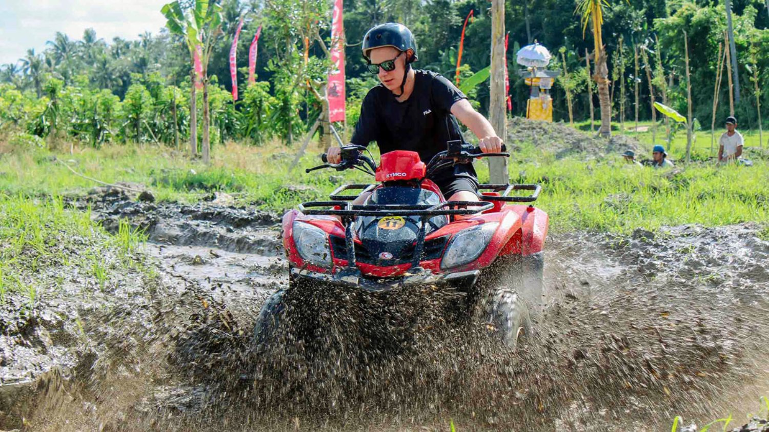Bali Quad Bike Adventure with Jungle Forest and Temple $50