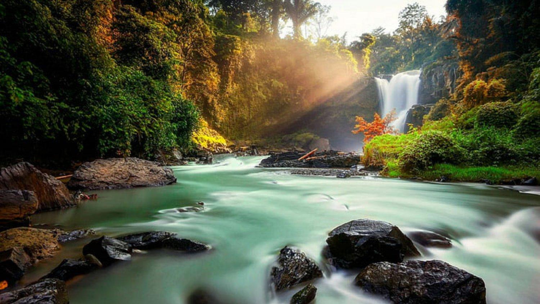 Bali Taxi Service to Tegenungan Waterfall from Ubud