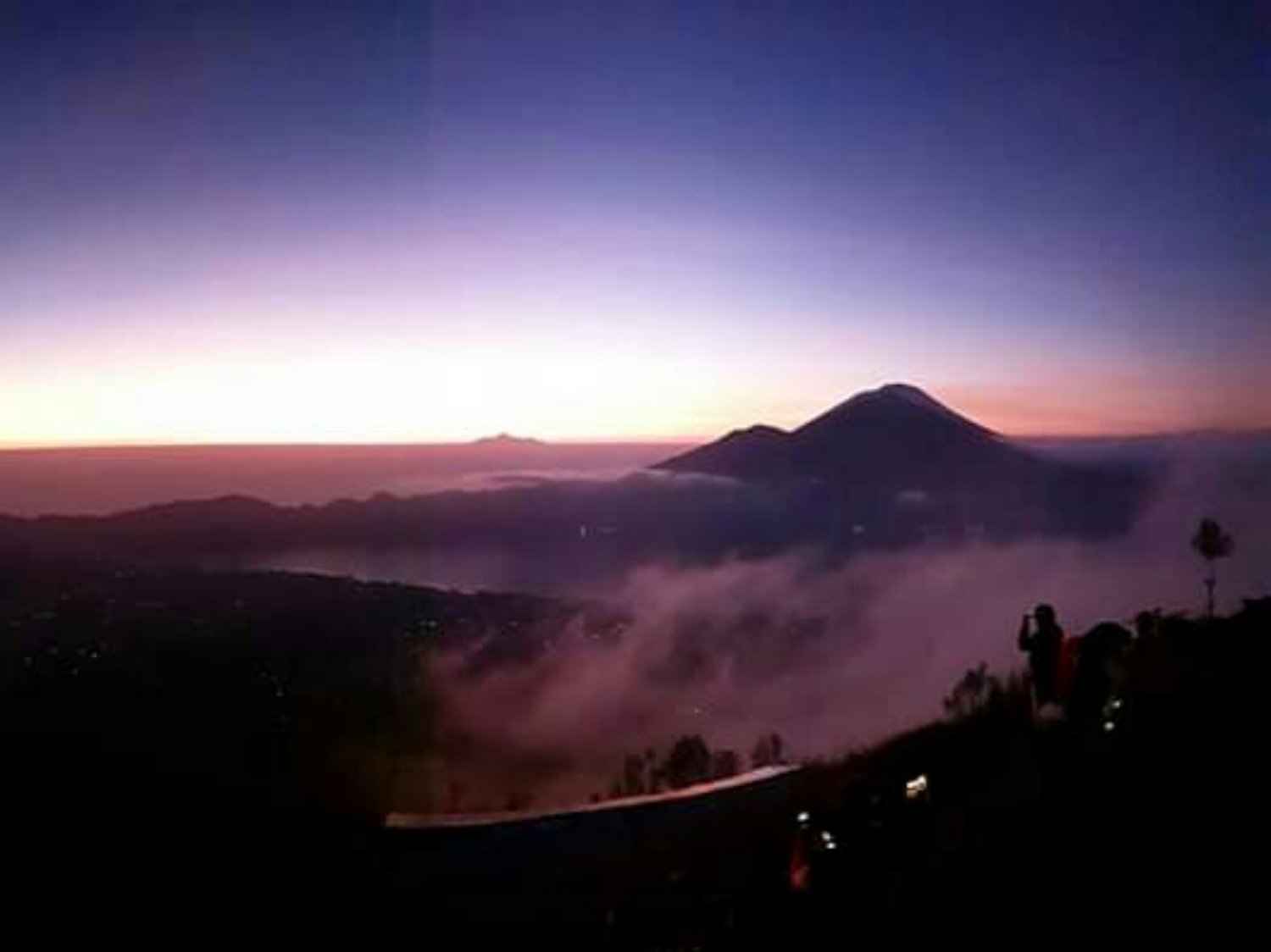 Climbing Mount Batur Bali And Hot Springs Private Tour Package