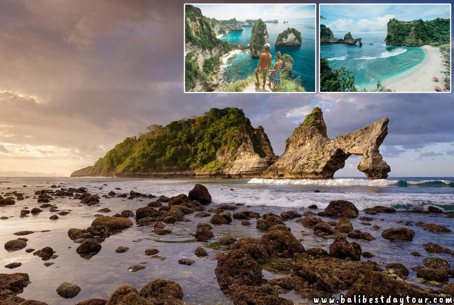 Nusa Penida Island Tour Package Includes Private Transport Service