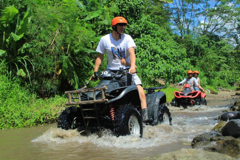 Bali Tandem Quad Bike and White Water Rafting – All Inclusive