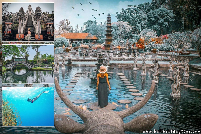 Lempuyang Temple, Tirta Gangga and Snorkeling at Blue Lagoon (East Bali Tour)