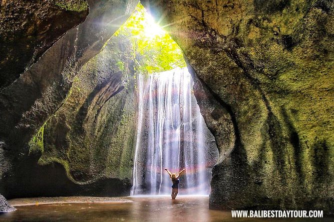 Hidden Fabulous Ubud Tukad Cepung Waterfall Tour
