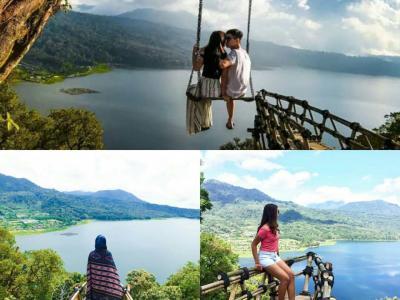 Twin lake bali