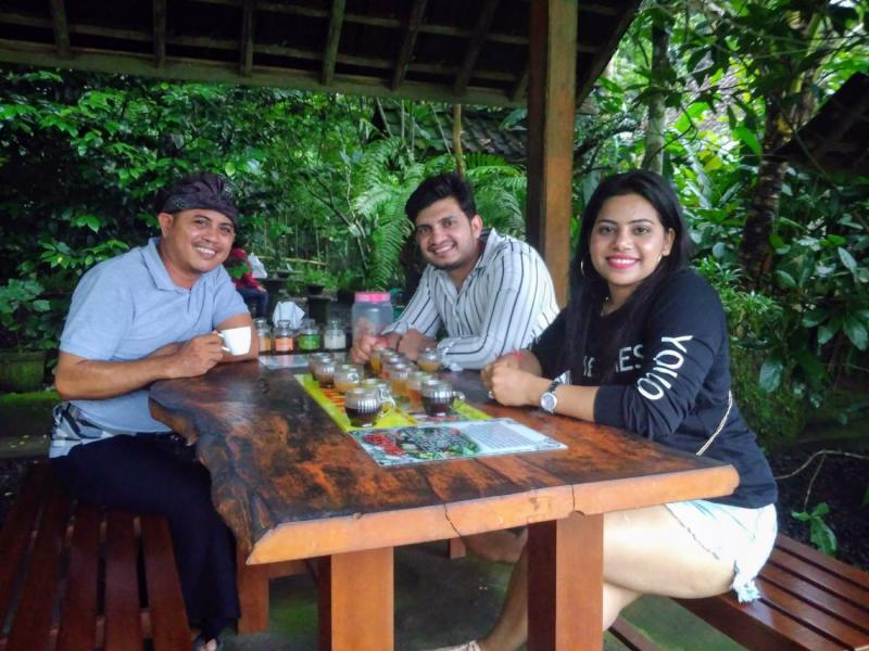 Testing Luwak coffee