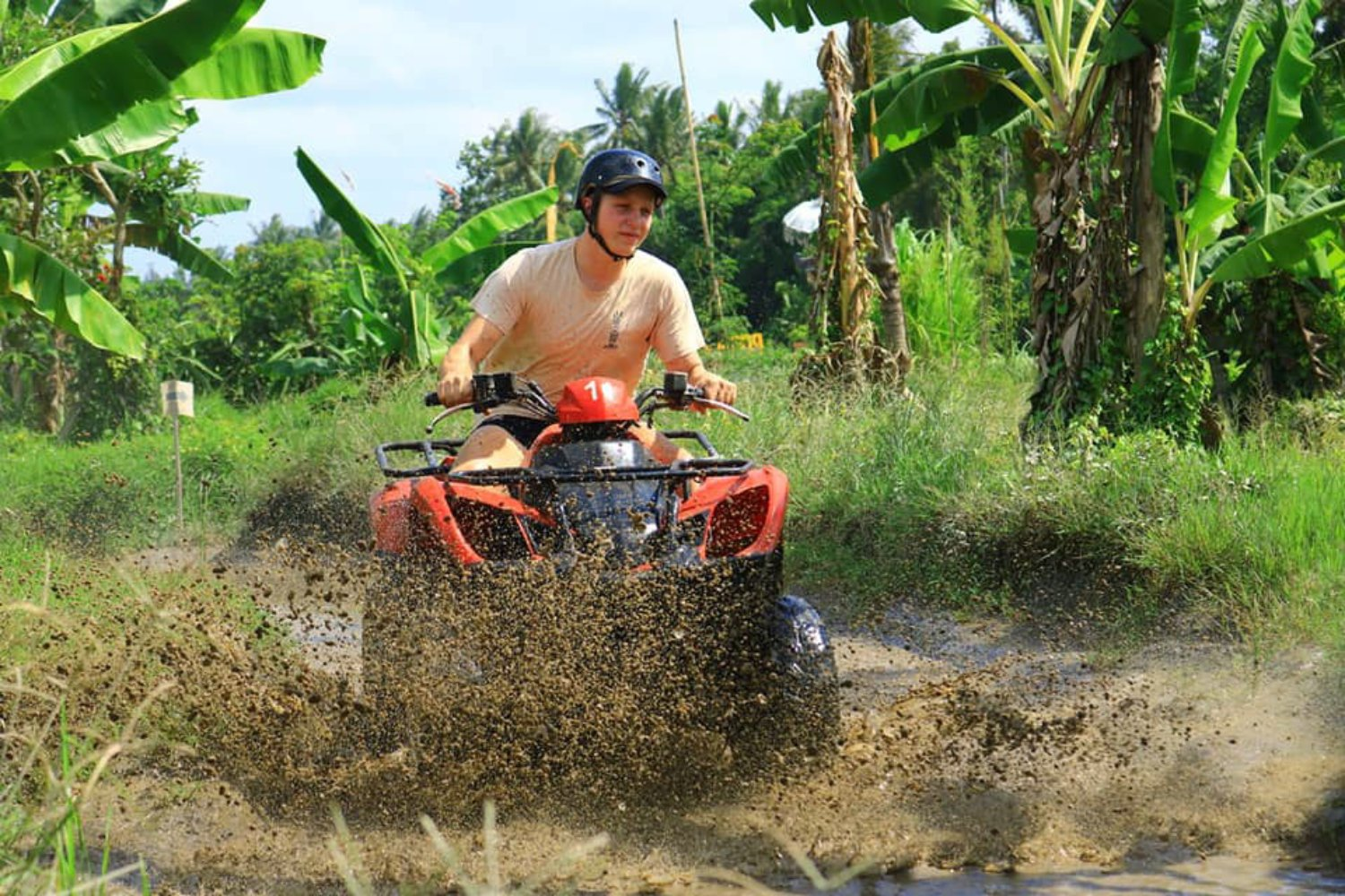 Atv Bali Rice Fields Quad Bike Adventure and Forest