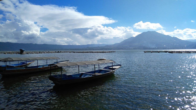 Batur Mount and Lake View