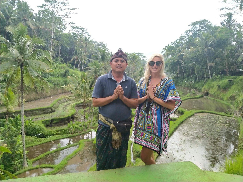 Tegalalang rice terace trekking ubud tour
