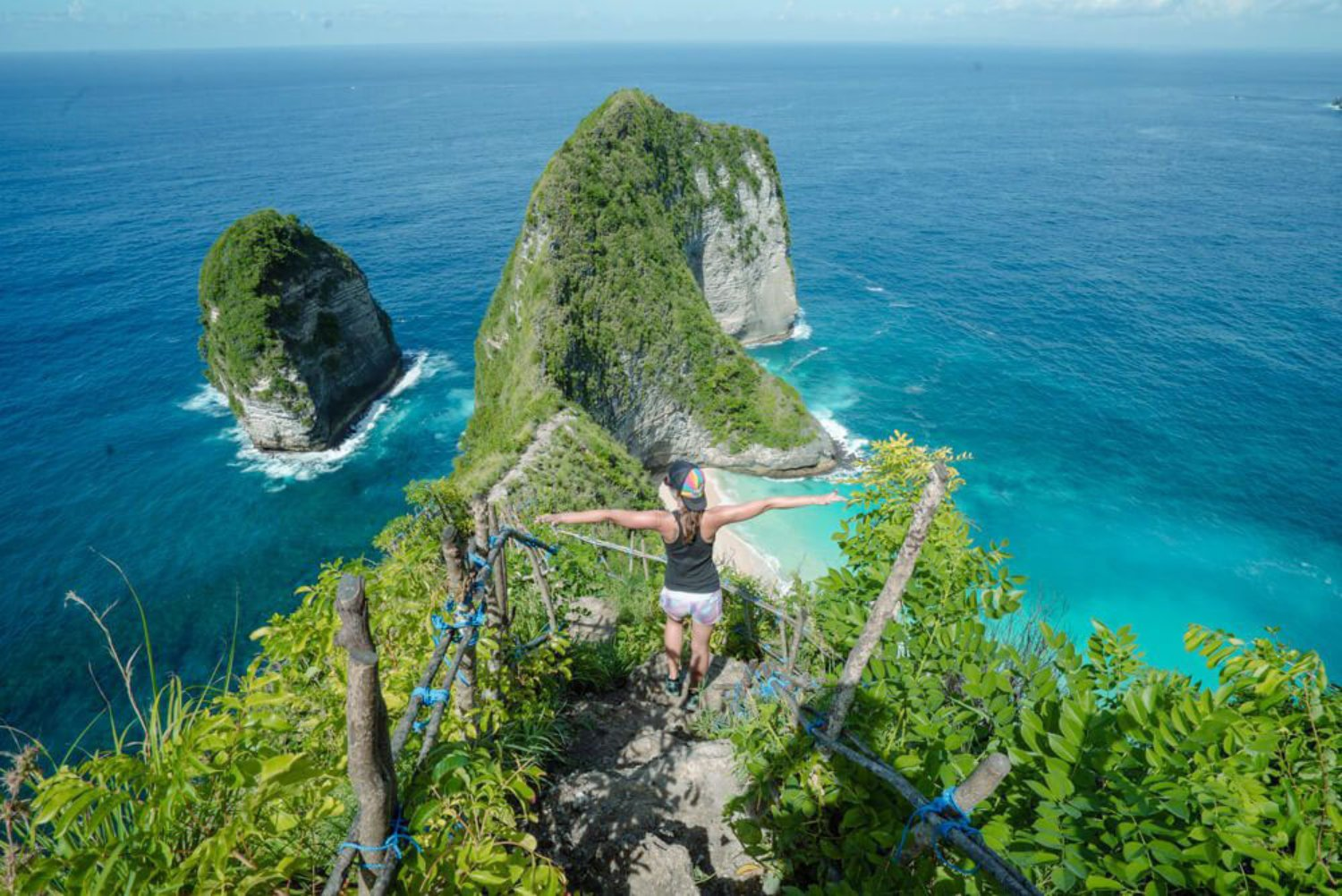 Kelingking Beach in Nusa Penida