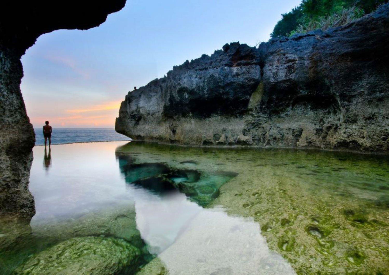 Natural Point at Angel Billabong Nusa Penida