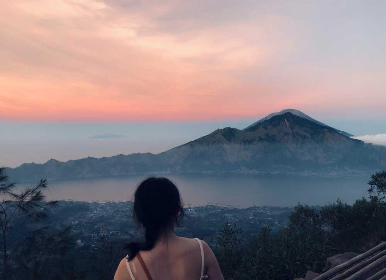 Pemandangan Pegunungan di Kintamani