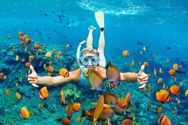 Snorkeling at Blue Lagoon - Bali