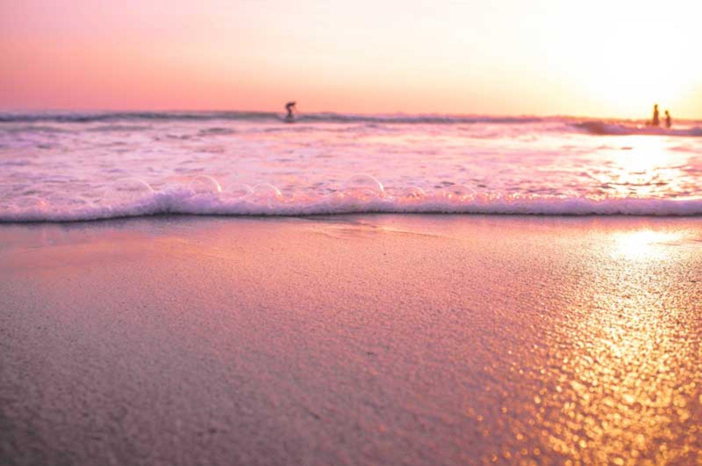Stunning Panorama of Seminyak Beach