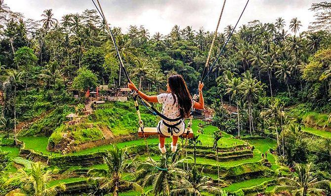 Tegalalang Bali Swing Rice Terrace