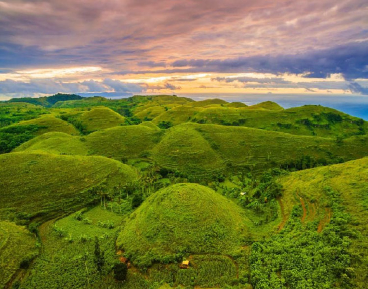 Telletubbies Hill in Nusa Penida