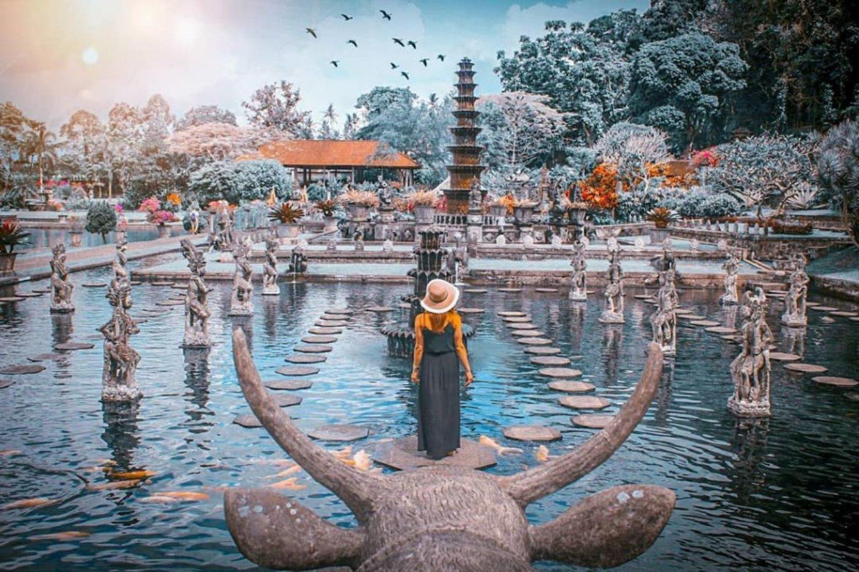 Tirta Gangga Water Palace in Karangasem