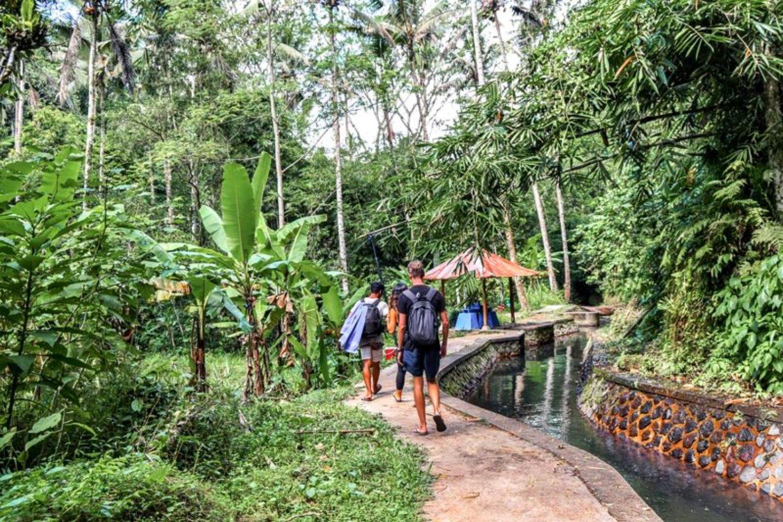Trekking Tukad Cepung Waterfall