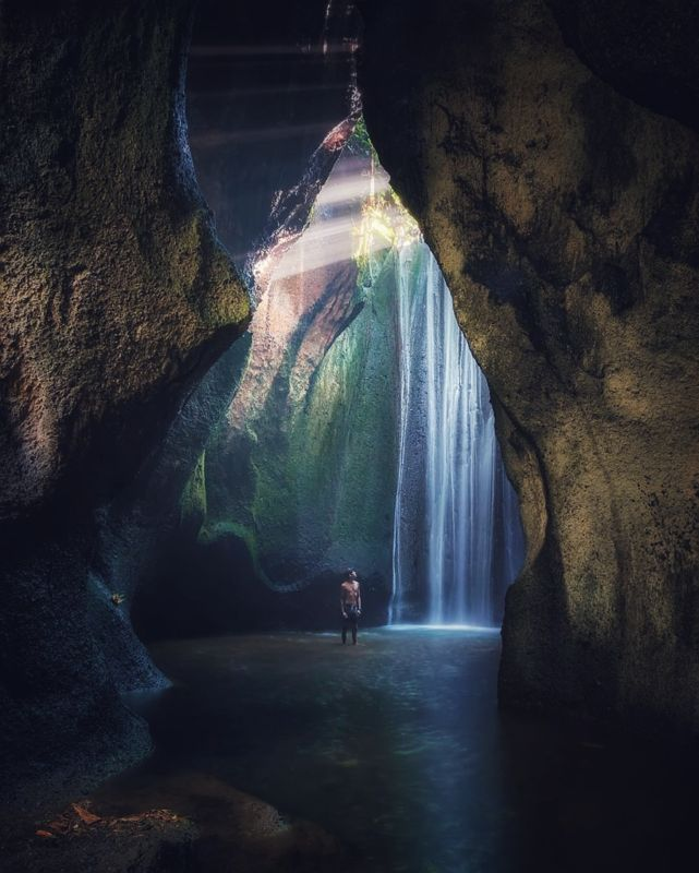 Tukad Cepung Waterfall Bangli