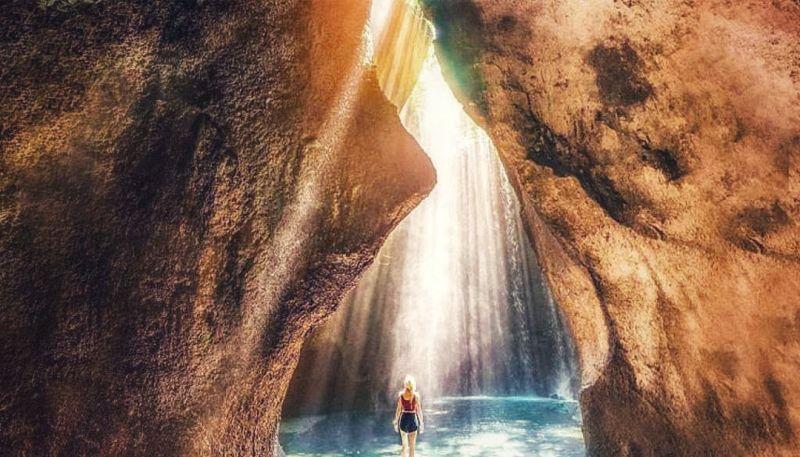Tukad Cepung Waterfall Ubud