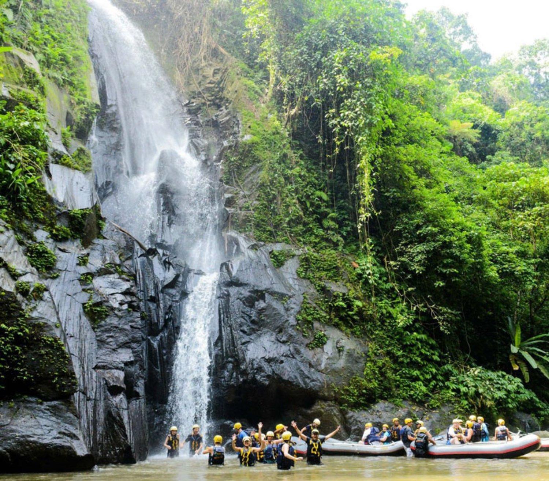 Waterfall at Ayung River